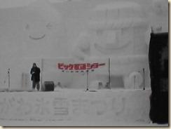 大雪像の様子