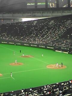 札幌ドーム到着