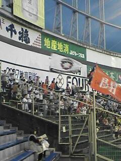 広島市民球場到着
