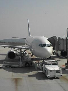 広島空港出発