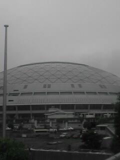ナゴヤドーム到着