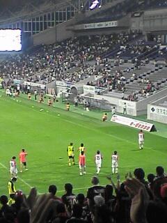 神戸戦試合終了