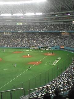 京セラドーム大阪にて