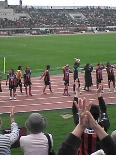 仙台戦試合終了