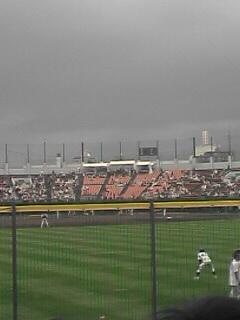 函館オーシャンスタジアムにて