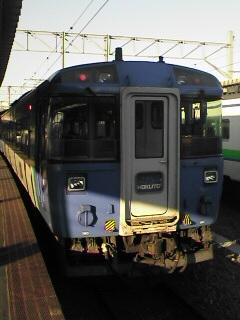 函館駅にて