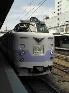 旭川駅にて