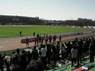 東京V戦試合終了