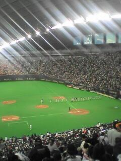 日本シリーズ第1戦試合終了