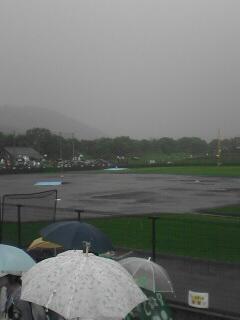 ジャイアンツ戦雨天中止