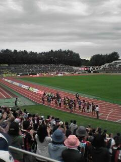栃木戦試合終了
