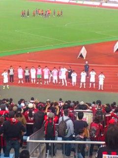 京都戦試合終了