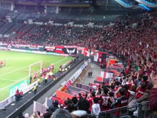 C大阪戦試合終了