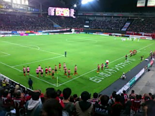 G大阪戦試合終了