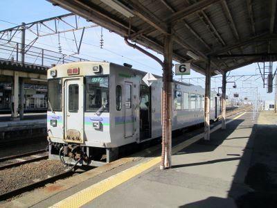 深川8時4分発の留萌行列車の写真