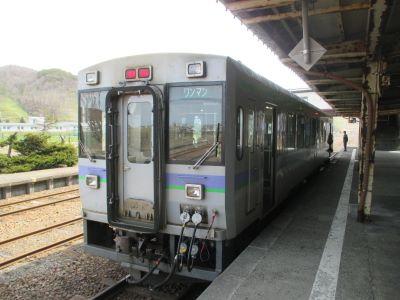 留萌9時31分発の深川行列車の写真