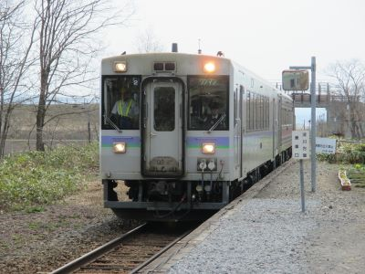 秩父別11時20分発の留萌行列車の写真
