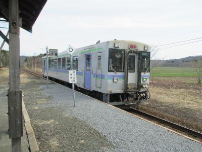 留萌13時30分発の深川行列車の写真