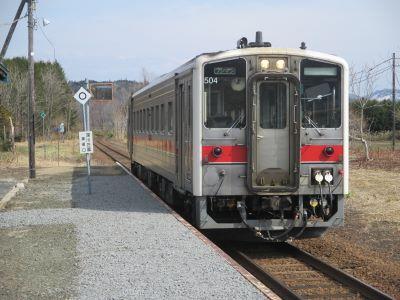 藤山14時9分発の留萌行列車の写真